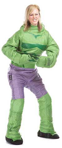 Incredible Hulk Sleeping Bag Onesie