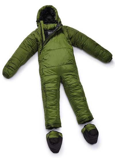 Green Sleeping Bag Onesie