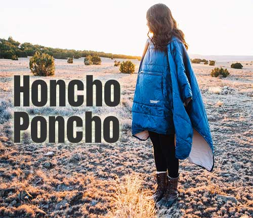 Honcho Poncho - the Wearable Sleeping Bag that You Can Wear as a Warm Poncho