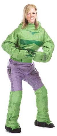 Incredible Hulk Sleeping Bag Onesie