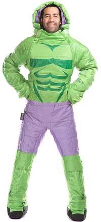Incredible Hulk Sleeping Bag with Legs