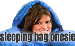 Sleeping Bag Onesie
