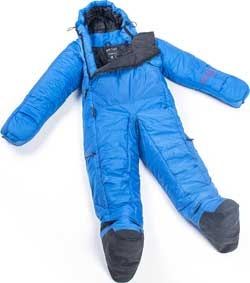 Selkbag Sleeping Bag with Arms, Legs, Gloves and Booties Built-in