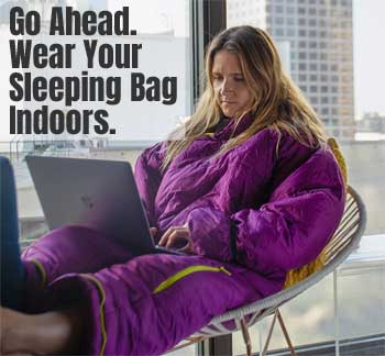 How to Wear Your Sleeping Bag Indoors in Style