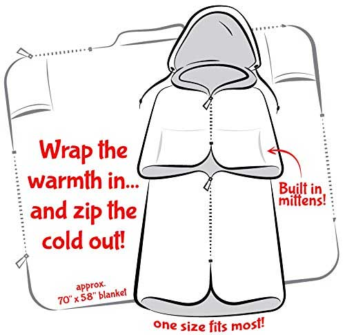 Wearable Blanket Wrapping Design