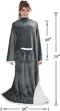 Wearable Blanket Sizing and Dimensions