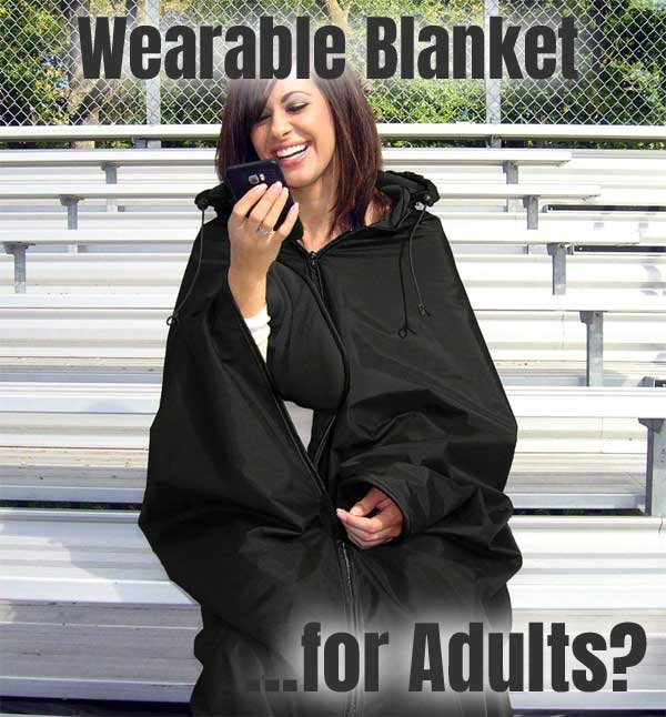 Wearable Blanket for Adults