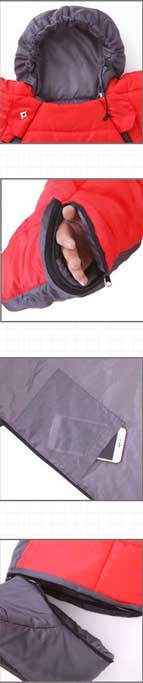 Features of Wearable Sleeping Bag for Kids
